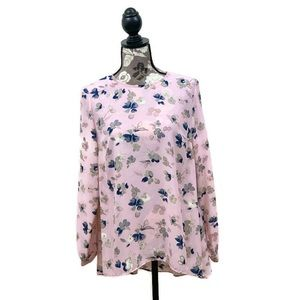 NWT Vince Camuto floral long sleeve
